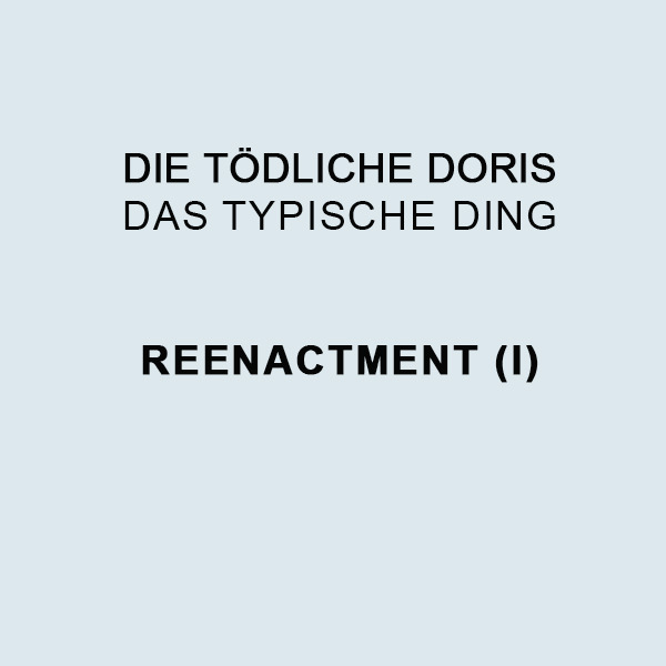 DAS TYPISCHE DING - REENACTMENT I (LP BOX - ART EDITION)