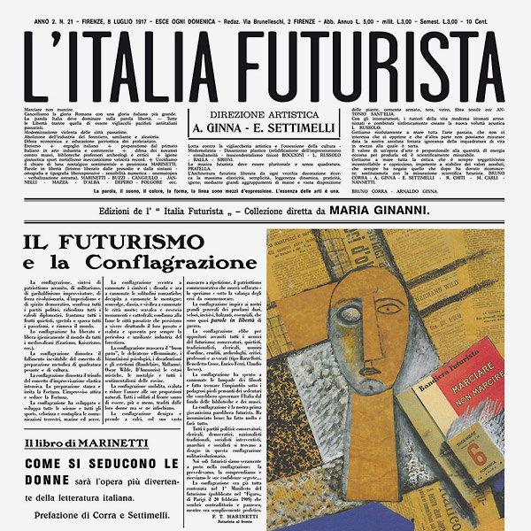 LA MUSICA FUTURISTA NELL'ITALIA E NEL MONDO (2LP)