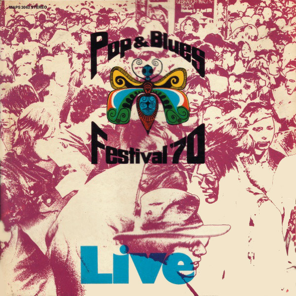 various artists - Pop & Blues Festival '70 (2LP)