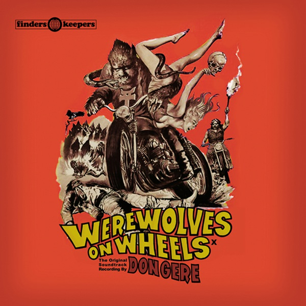 WEREWOLVES ON WHEELS  (LP)