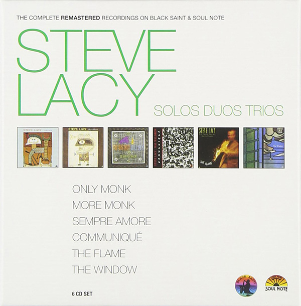 steve lacy - The Complete Remastered Recordings. Solos Duos Trios (6CD Box)