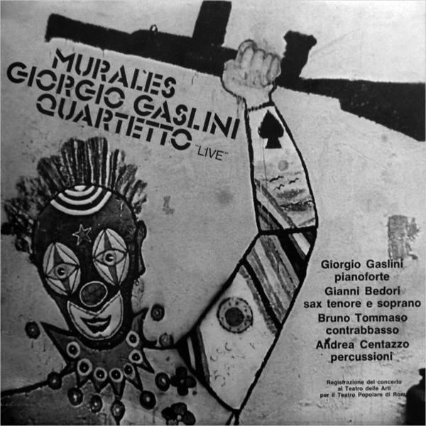 MURALES - GIORGIO GASLINI QUARTETTO LIVE  (LP)