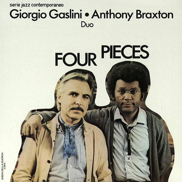 giorgio gaslini - anthony braxton - Four Pieces (LP)