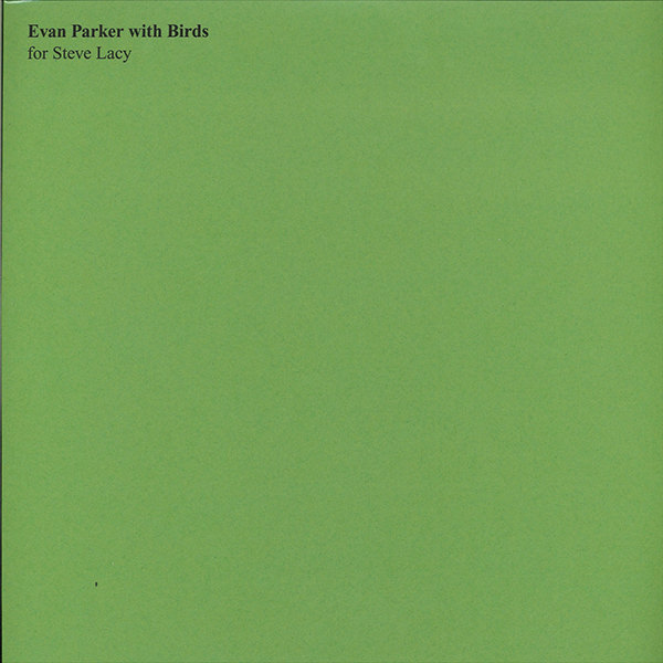 evan parker - Evan Parker With Birds (Lp)