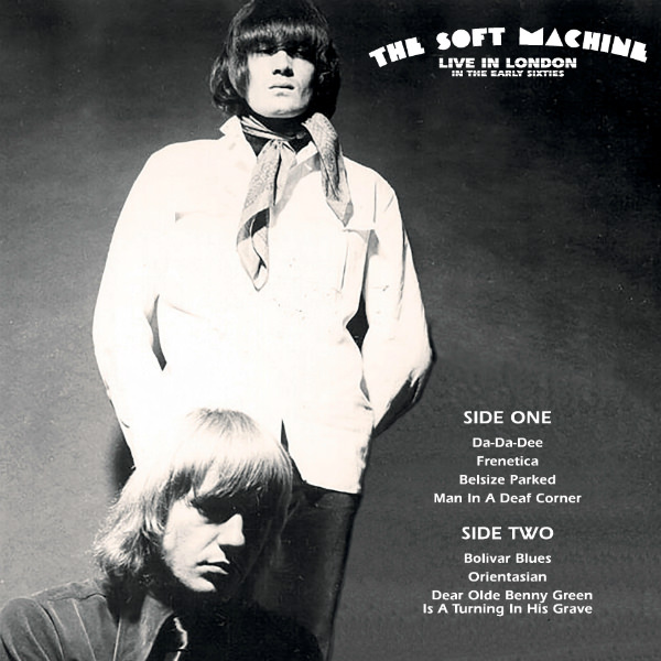 soft machine - Live In London In The Early Sixties (LP)