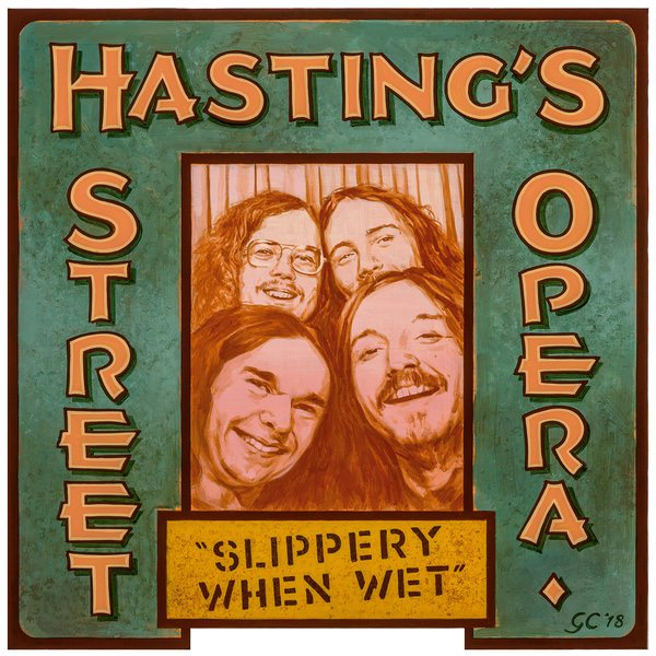SLIPPERY WHEN WET (LP)