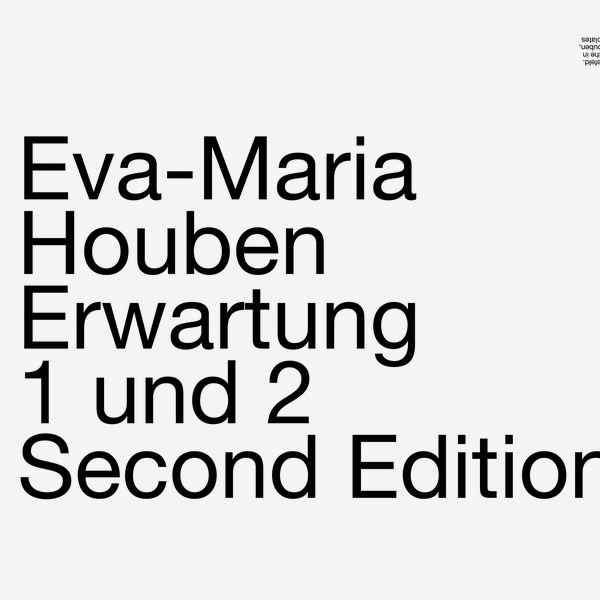 ERWARTUNG 1 UND 2 (LP)