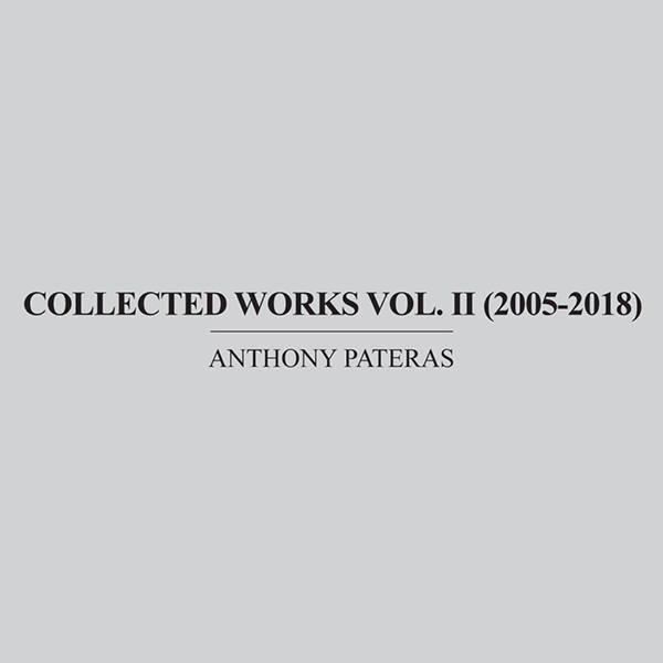 COLLECTED WORKS VOL. II (2005-2018) 5CD BOX