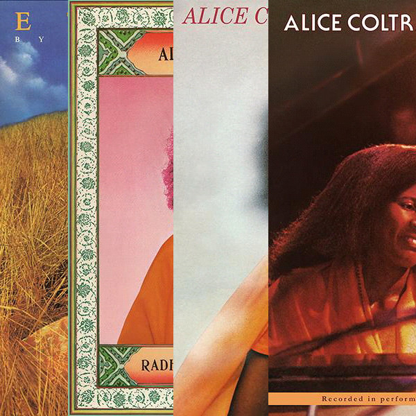 Alice Coltrane bundle (5 x LP)