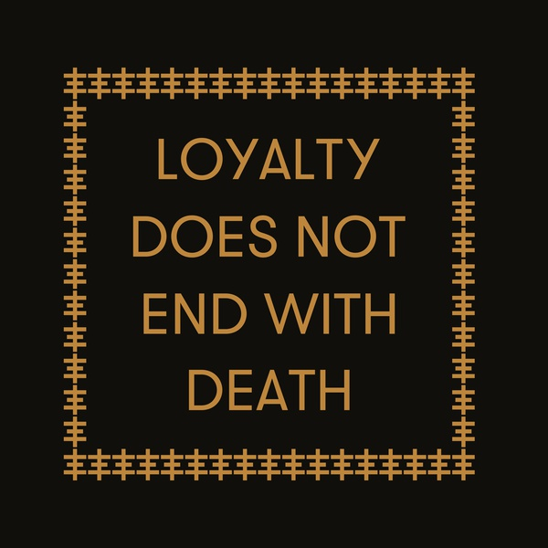 genesis p-orridge - carl abrahamsson - Loyalty Does Not End With Death (LP)