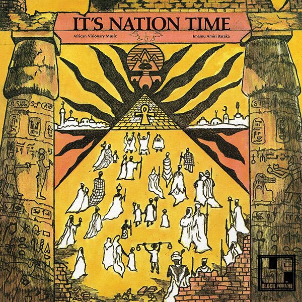 IT'S NATION TIME: AFRICAN VISIONARY MUSIC (LP)