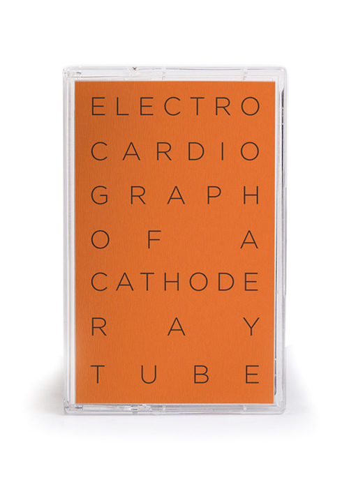 ELECTROCARDIOGRAPH OF A CATHODE RAY TUBE
