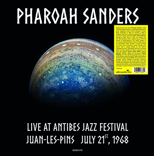 LIVE AT ANTIBES JAZZ FESTIVAL IN JUAN-LES-PINS 1968 (LP)