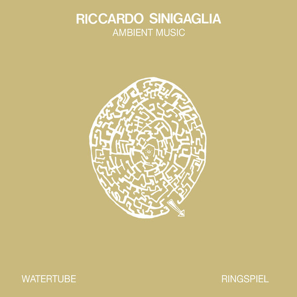 Watertube Ringspiel (Ambient Music) LP (Gold Vinyl)