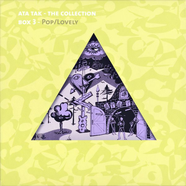 various artists - Ata Tak - The Collection, Box 3: Pop/Lovely (5CD Box Set+MiniCD)