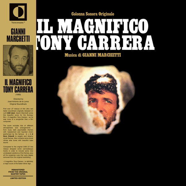 IL MAGNIFICO TONY CARRERA (LP)