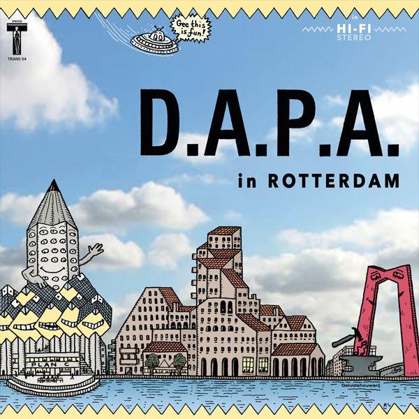 D.A.P.A. / OEFENING KUNSTBAARDT IN ROTTERDAM (LP)