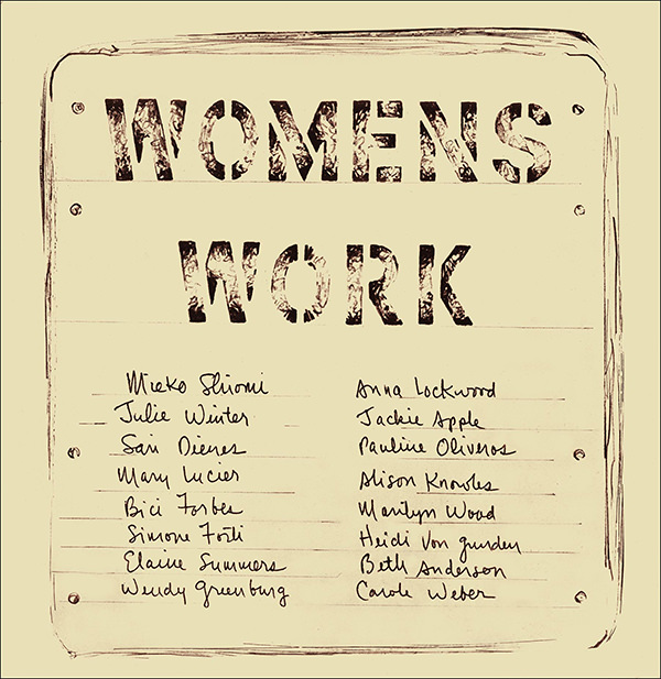 WOMENS WORK (BOOK)