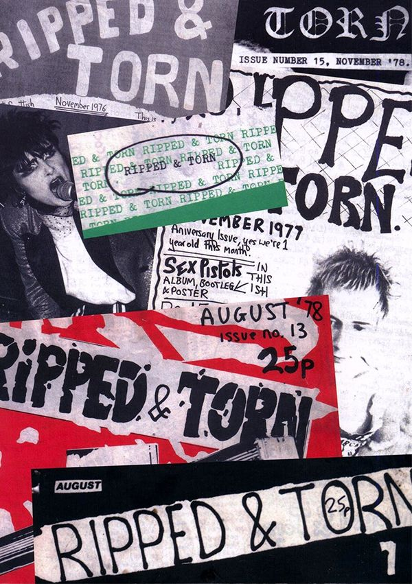 RIPPED AND TORN: THE LOUDEST PUNK FANZINE IN THE UK (BOOK)
