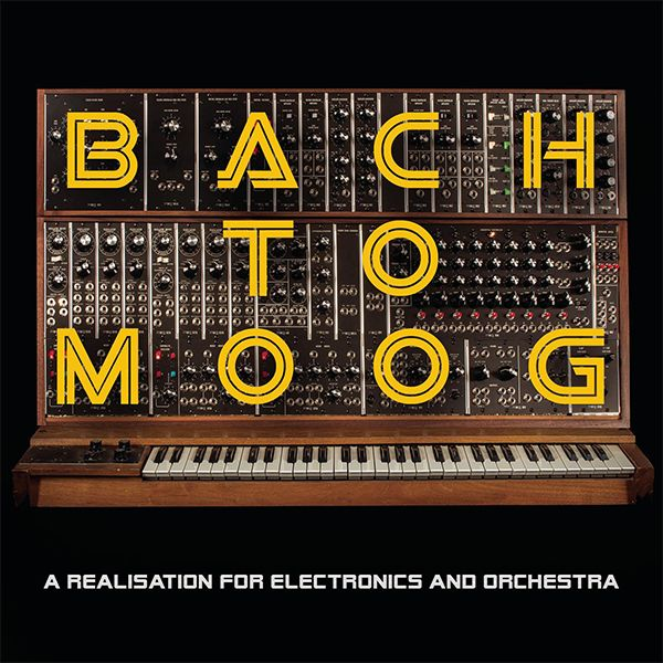 BACH TO MOOG (LP)
