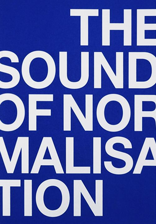 THE SOUND OF NORMALISATION (BOOK + DVD)