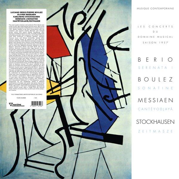 SERENATA I/SONATINE/CANTEYODJAYA/ZEITMASZE (LP)