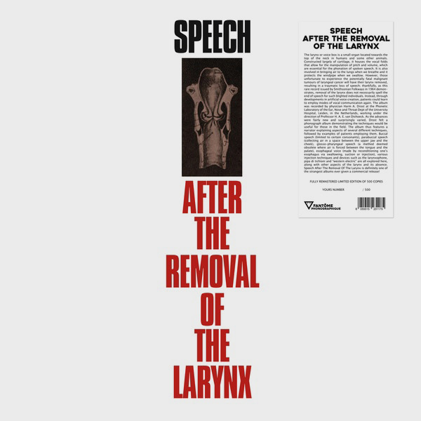 various - Speech After The Removal Of The Larynx (LP)