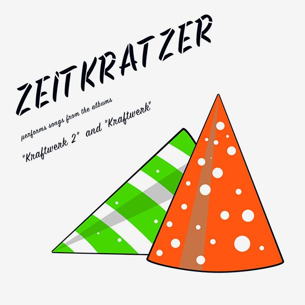 zeitkratzer - Performs Songs from 'Kraftwerk 2' and 'Kraftwerk' (LP)