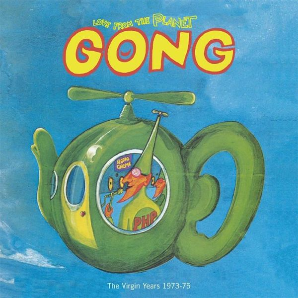 LOVE FROM THE PLANET GONG: THE VIRGIN YEARS 1973-1975 (12CD+DVD)
