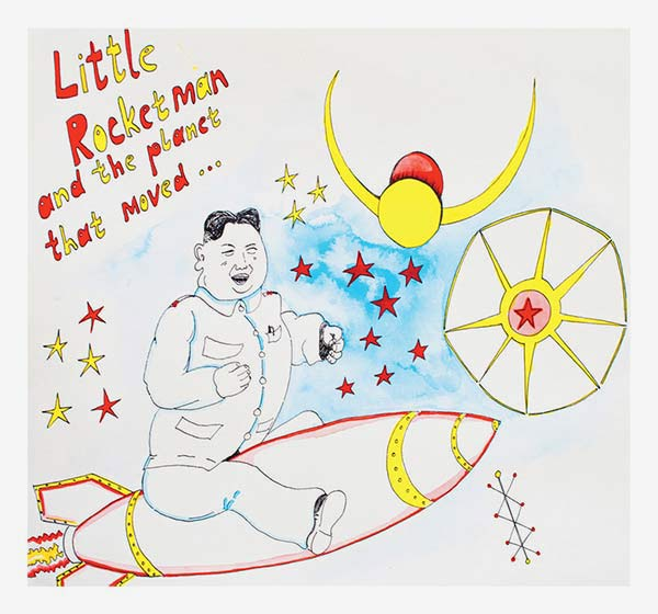 LITTLE ROCKETMAN AND THE PLANET THAT MOVED IMAGES
