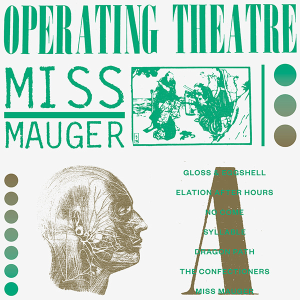 roger doyle - operating theatre - Miss Mauger (LP)