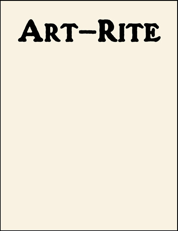 ART-RITE (BOOK)