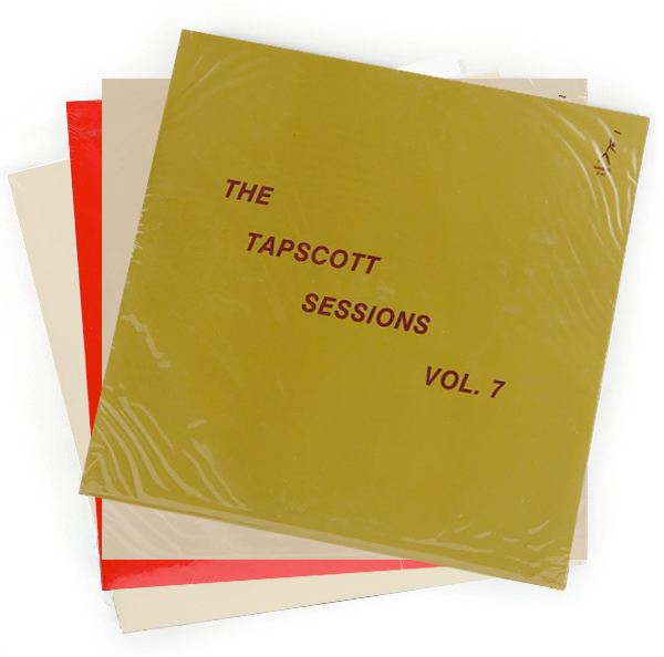 THE TAPSCOTT SESSIONS VOL. 1 - 7 (7XLP IN BUNDLE)