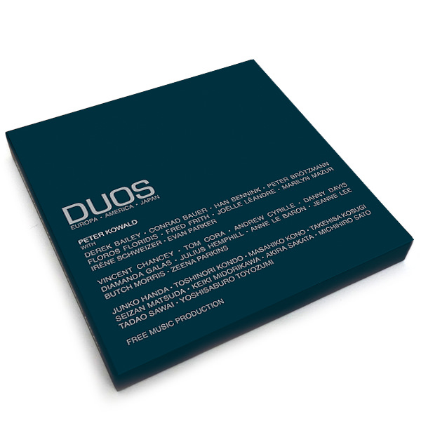 DUOS : EUROPA · AMERICA · JAPAN (3LP BOX)