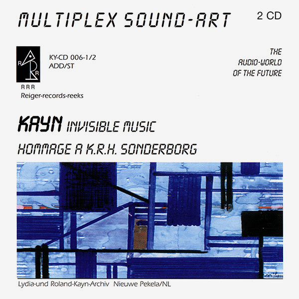 INVISIBLE MUSIC / HOMMAGE A K. R. H. SONDERBORG (2CD)