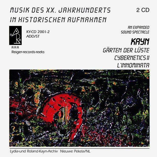 GäRTEN DER LüSTE / CYBERNETICS II / L'INNOMINATA (2CD)