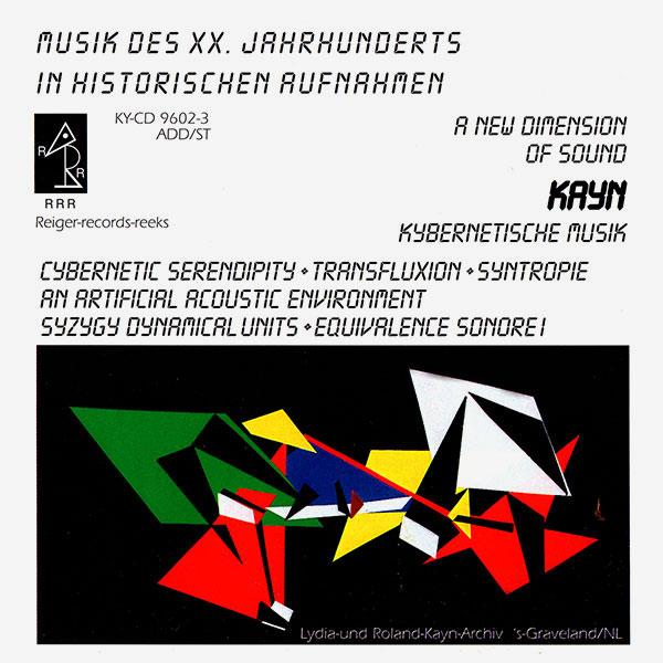 KYBERNETISCHE MUSIK III (2CD)