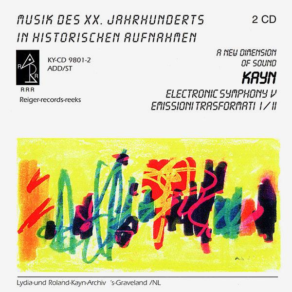 ELECTRONIC SYMPHONY V / EMISSIONI TRASFORMATI I-II (2CD)