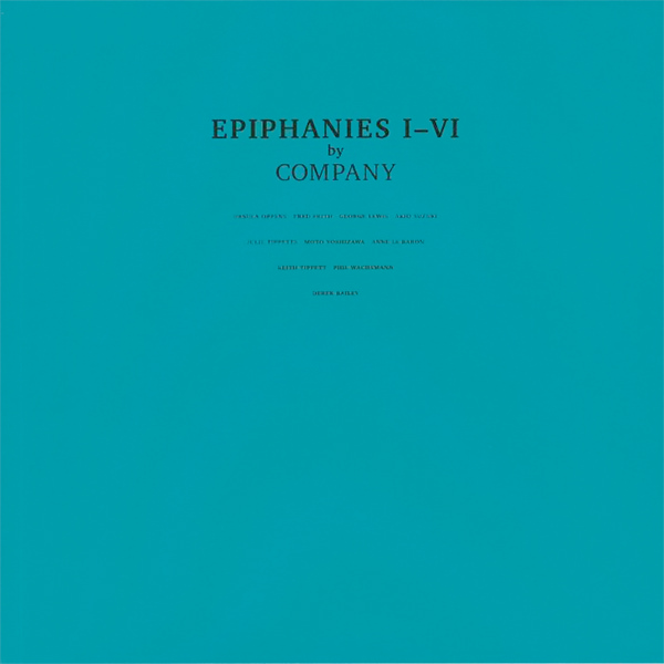 the music improvisation company - Epiphanies I-VI (2LP)