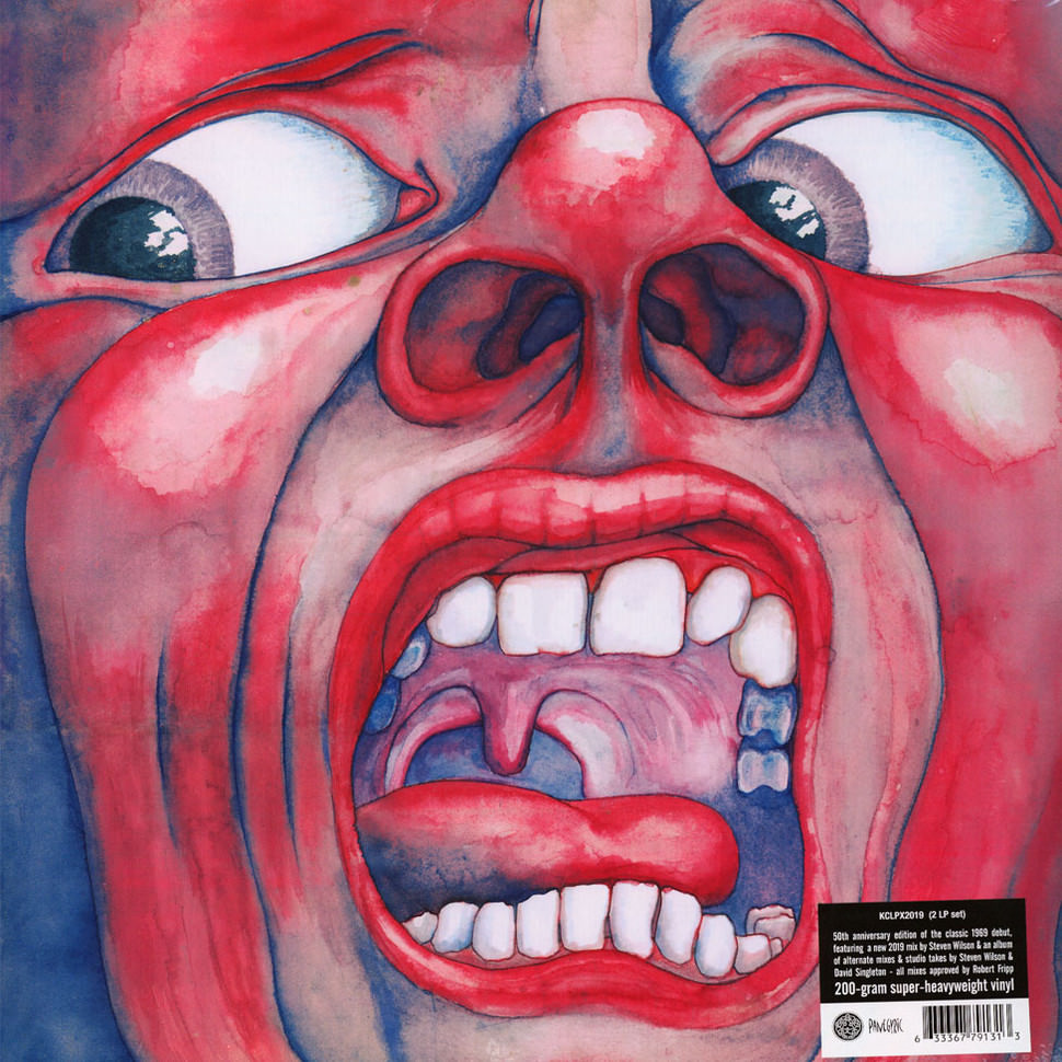 IN THE COURT OF THE CRIMSON KING (2LP) 50TH ANNIVERSARY EDITION