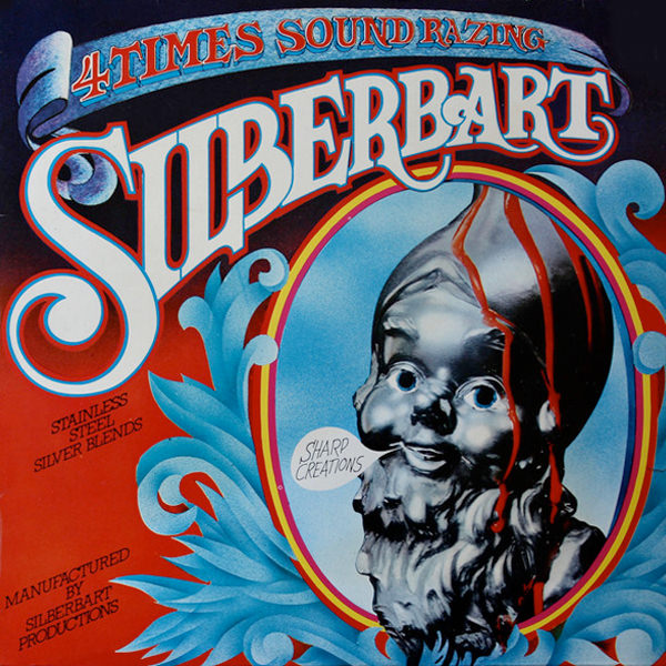silberbart - 4 Times Sound Razing  (LP)