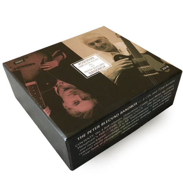 THE PETER BLEGVAD BANDBOX (6CD BOX)