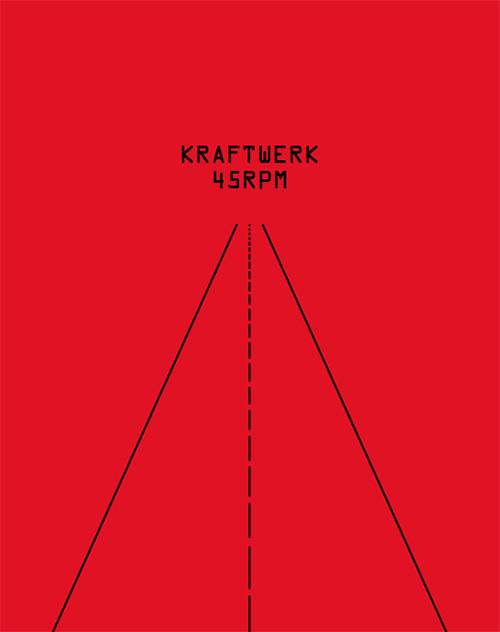 KRAFTWERK. 45 RPM (BOOK + 7