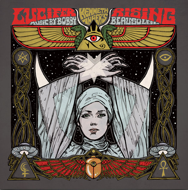 LUCIFER RISING OST (COLOUR LP)