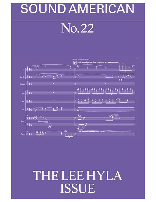various - Sound American no. 22 - The Lee Hyla Issue (Book)