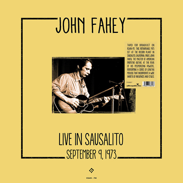 LIVE IN SAUSALITO, SEPTEMBER 9, 1973 (LP)