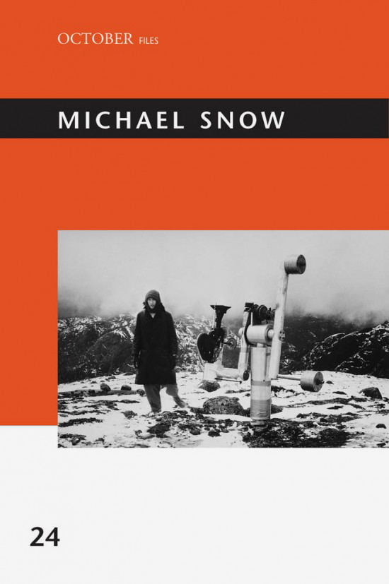 MICHAEL SNOW (BOOK)