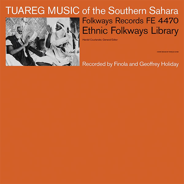 TUAREG MUSIC OF THE SOUTHERN SAHARA (LP)