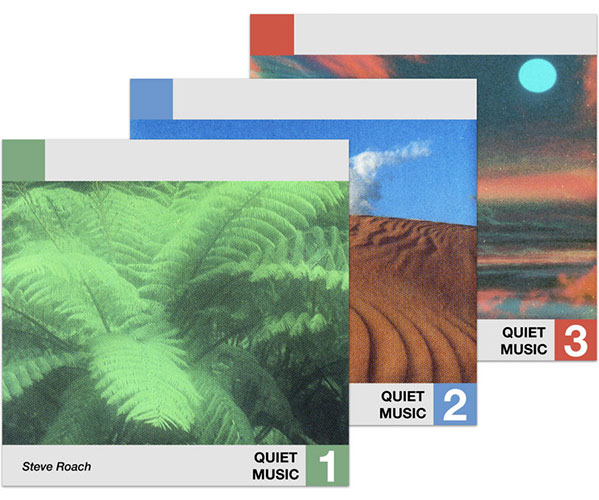 QUIET MUSIC 1 / QUIET MUSIC 2 / QUIET MUSIC 3 (3LP BUNDLE)