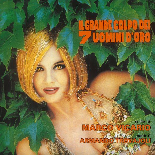IL GRANDE COLPO DEI 7 UOMINI D'ORO (COLOUR LP)